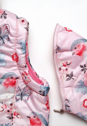 куртка жилетка розовая купить для девочки