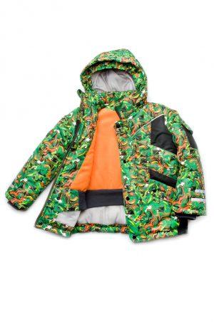 куртка зимняя для мальчика зеленая купить Киев