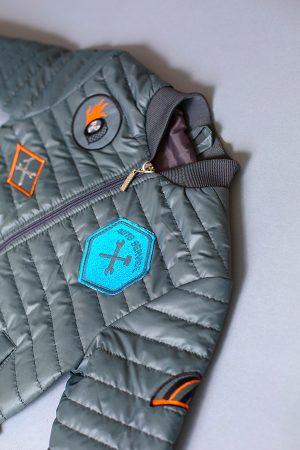 детская куртка для мальчика с шевроном купить Харьков