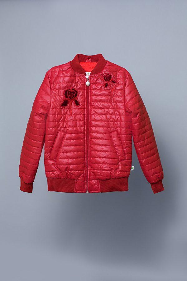 стеганая куртка для девочки недорого с доставкой