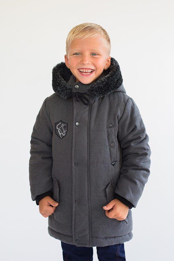 теплая зимняя парка для мальчика купить с доставкой