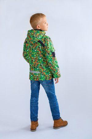 зимняя удлиненная куртка для мальчика купить Днепр