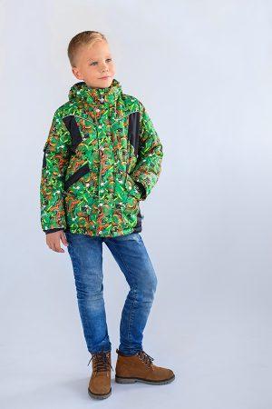 теплая зимняя куртка для мальчика недорого