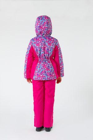 яркая куртка зимняя мембранная ткань для девочки купить Харьков