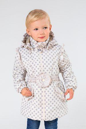детская куртка с цветком на поясе купить Харьков