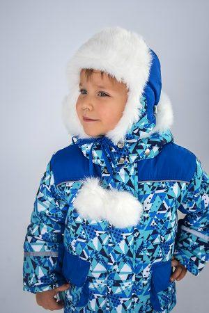 купить шапка ушанка зимняя для мальчика недорого