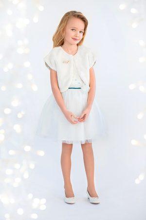 меховая накидка болеро и платье для девочки недорого