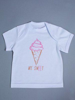 футболка для новорожденной девочки купить Киев