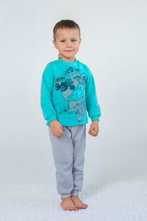 теплая пижама для мальчика недорого