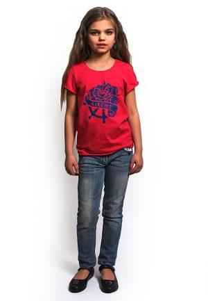 практичная футболка для девочки фэмили лук мама дочка купить