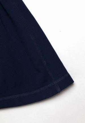 недорогая синяя юбка для девочки