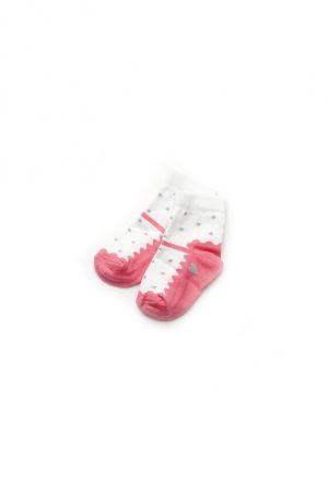 качественные носки туфелька для новорожденной девочки