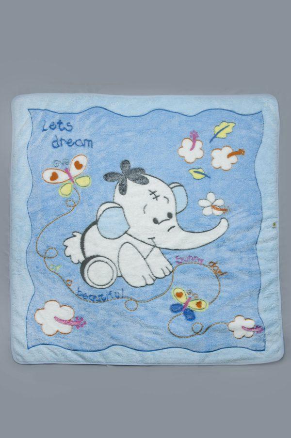 голубое одеяло для новорожденного купить Харьков