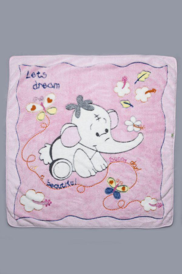 одеяло розовое для девочки недорого