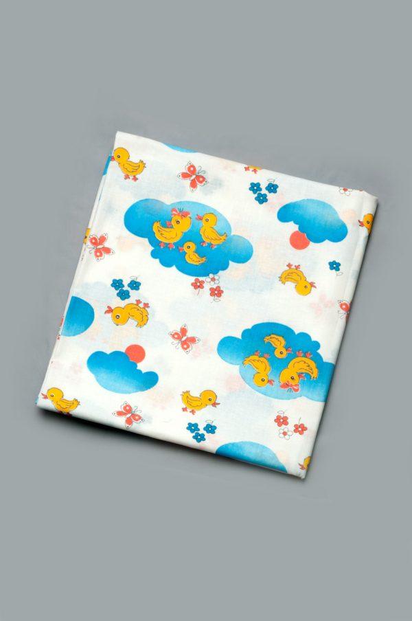 плотная пеленка ситцевая для новорожденных