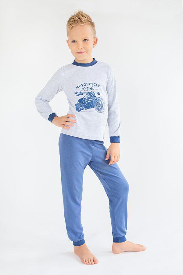 пижама для мальчика синяя купить Харьков