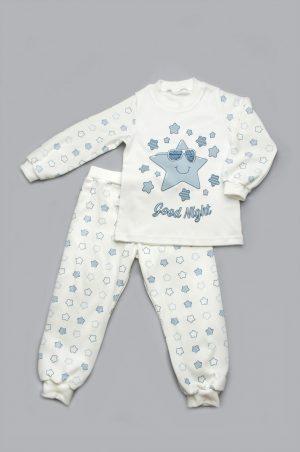 детская пижама голубые звезды купить с доставкой