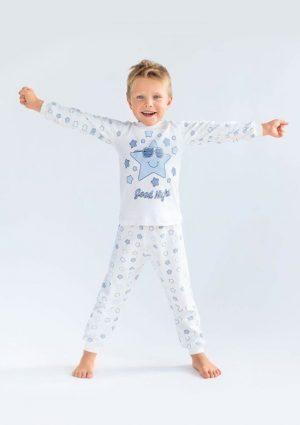 качественная детская пижама интерлок хлопок для мальчика