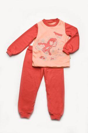 недорогая пижама футер для девочки купить с доставкой