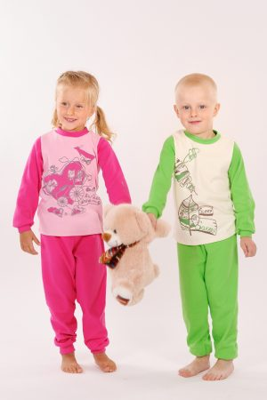 купить детская пижама для мальчика девочки хлопок