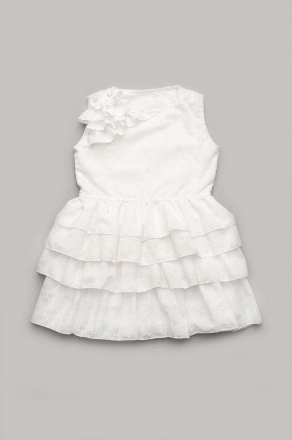 платье оборки рюши цвет айвори купить с доставкой