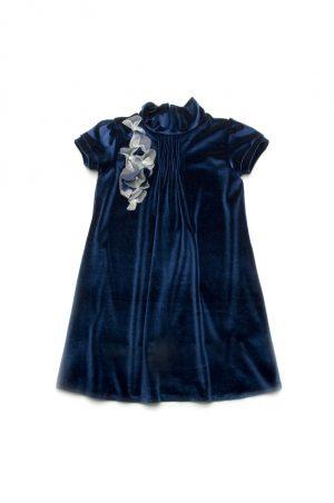красивое бархатное платье для девочки