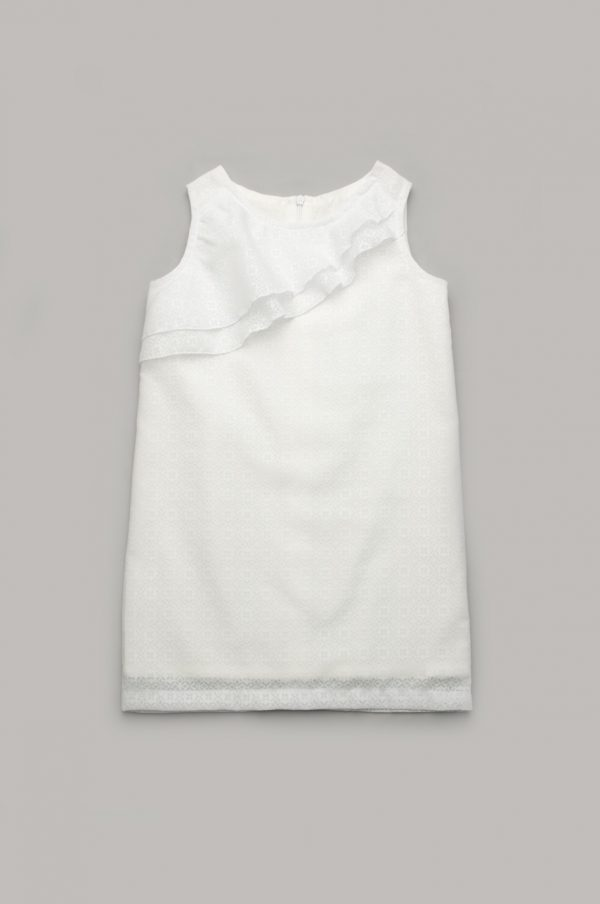 детское платье белое фэмили лук family look мама дочка купить