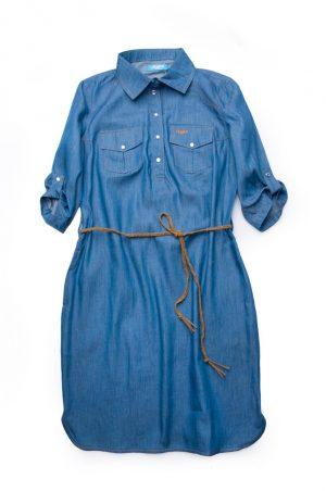 женское джинсовое платье фэмили лук мама