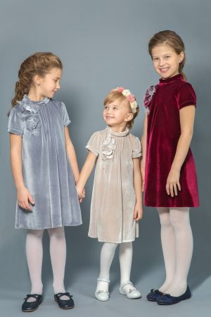 праздничное бархатное платье купить с доставкой