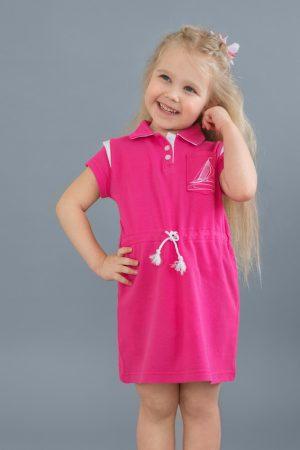 платье с канатиком в морском стиле для девочки купить Днепр