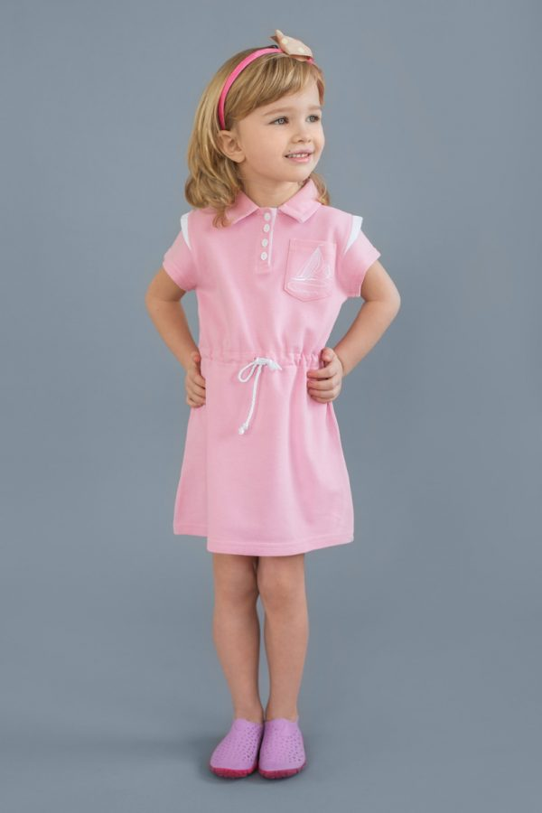 летнее платье для девочки с канатиком купить от производителя