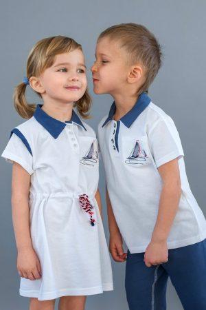 летняя детская одежда для мальчиков и девочек недорого