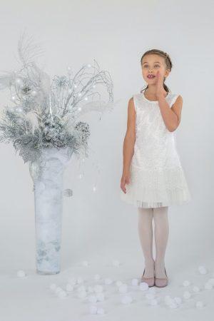 купить нарядное гипюровое платье для девочки недорого