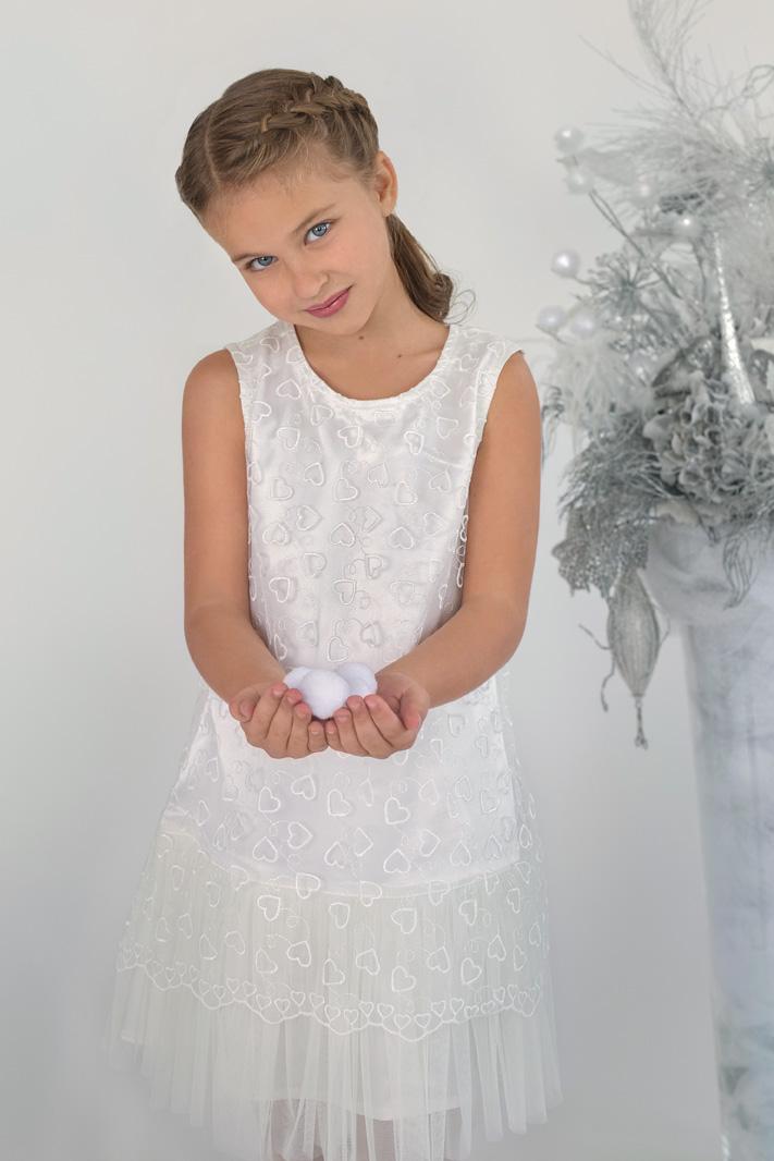 08814c7b096 Новогоднее детское платье для девочки купить в магазине Модный карапуз