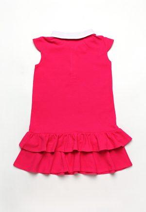 купить яркое розовое платье для девочки