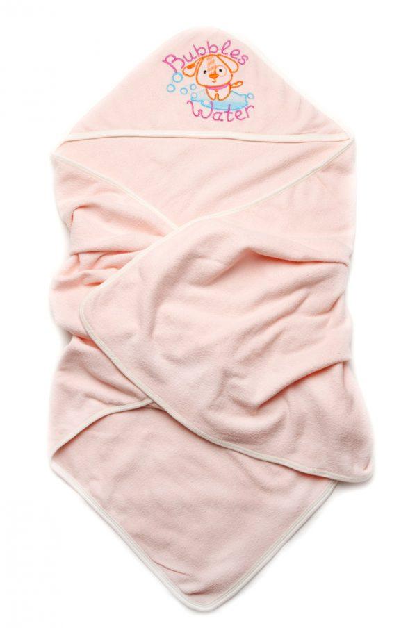мягкое полотенце с капюшоном махра для новорожденной недорого