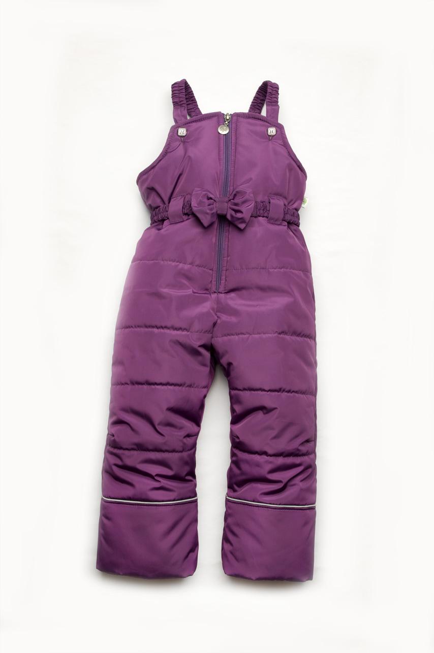 Зимний комбинезон для девочки куртка розовая + полукомбинезон 2e25f79b1eced
