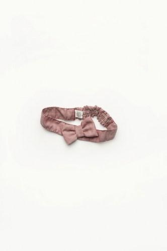 стильный аксессуар повязка с бантиком на голову для девочки