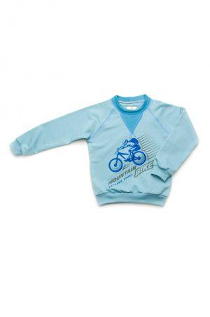 реглан голубой с синим для мальчика недорого