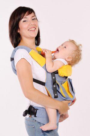 качественный эргорюкзак для ношения малыша