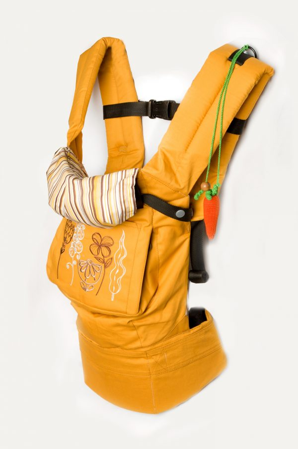 рюкзак эргономичный желтый купить