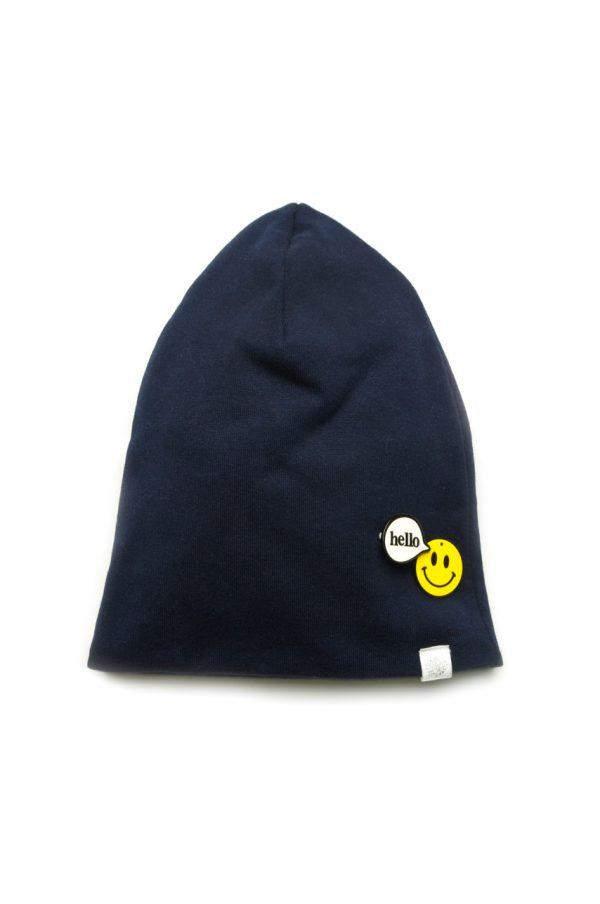 шапочка со значком для мальчика недорого