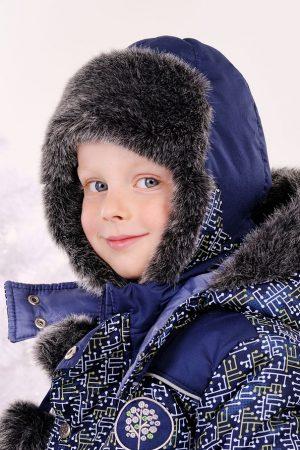 купить шапку ушанку для мальчика с мехом Харьков