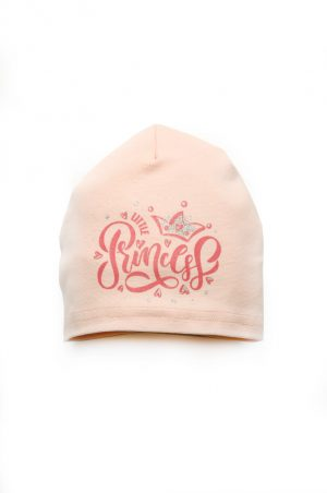 детская трикотажная шапка розовая купить Харьков