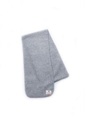 детский флисовый шарф серый недорого