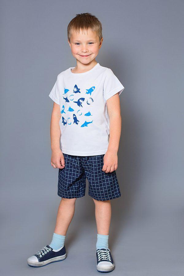 шорты футболка для мальчика купить с доставкой