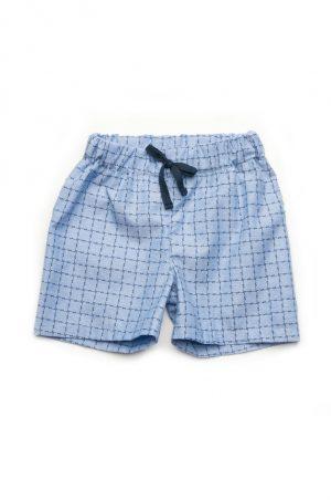шорты джинс клетка для мальчика купить недорого