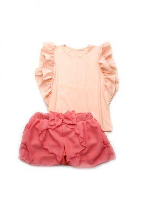 юбка шорты топ с шифоном для девочки купить Харьков