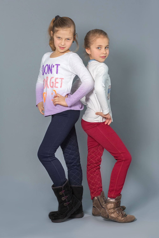 Детские, подростковые штаны джогеры для девочек, ткань ... | 1500x1000