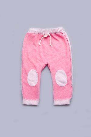 розовые штаны для малышей трехнитка купить